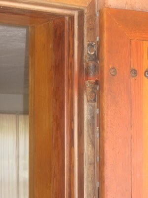 old door hinge