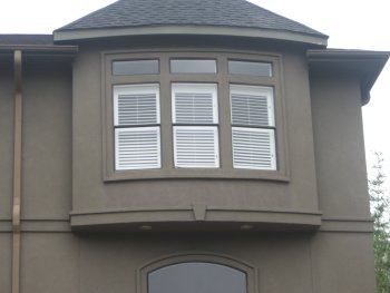 stucco with EIFS trim