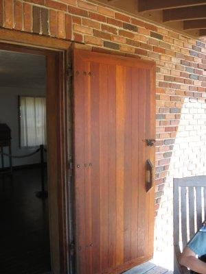 older door