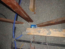 PEX and wiring