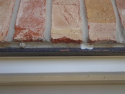 metal lintels rusting