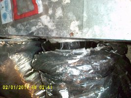 duct sealing at plenum