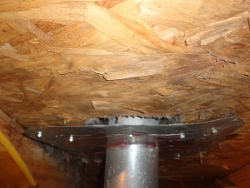 vent pipe installation attic