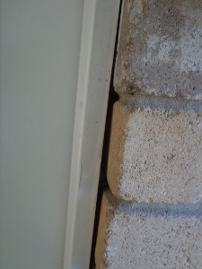 wall joint gap
