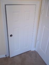 missing door knob