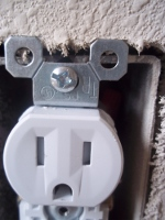 uncovered TR outlet