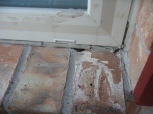potential window leak