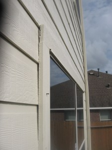 no flashing over window trim