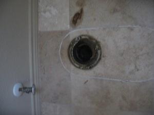 toilet drain