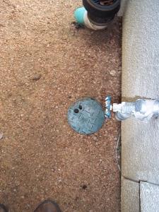sprinkler control cover