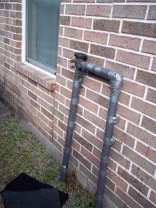 sprinkler valve pipe