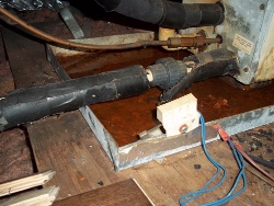 safety pan for the air conditioner