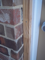 unfinished door trim