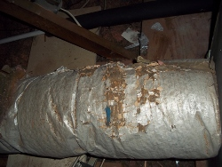 air duct in need of sealing