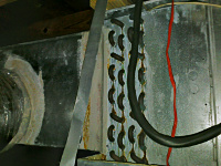 exposed coils evaporator