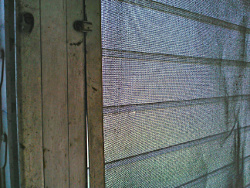 jalousie window screen