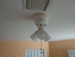 Ceiling fan broken blade energywarden broken ceiling fan blade theteenline org mozeypictures Images